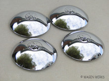 Hub Cap Set - Wide Five Bug to 1965