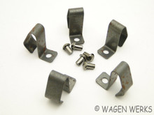Hub Cap Clips - Porsche 356 - Long Style - Set of Five