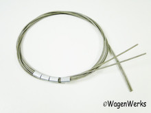 Convertible Top Tension Wire / Cables - Bug 1960 to 1979