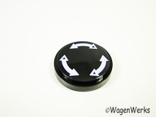 Air Vent Knob Cap - Karmann Ghia 1972 to 1974