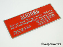 Okrasa Fan Shout Badge 25hp - 36hp