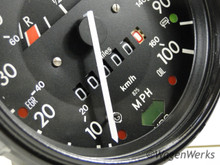 Speedometer - 1975 to 1977 Bug - Rebuilt 11.75