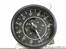Speedometer - 1972 to 1974 Bug 7-71 - Rebuilt