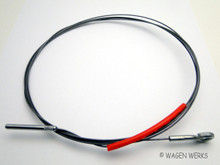 Accelerator Cable - Karmann Ghia 1956 to 1957 - Gemo