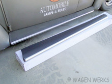 Running Boards w/Wide Molding - Black Bug to 1966
