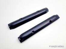 Pop Out Window Hinge Covers - Bug to 1977 - Black