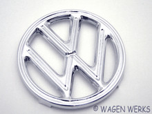 Hood Emblem - Bug 1952 to 1960 4 Tab - German