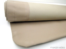 Cloth Sunroof Cover - Bug 1957 to 1963 Tan Canvas