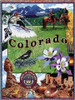 Colorado state tapestry throw blanket
