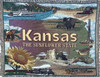 Kansas sunflower state tapestry throw blanket- ES