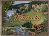 Kentucky bluegrass state tapestry throw blanket- ES