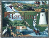 Maryland state tapestry throw blanket- ES