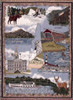 New Hampshire state tapestry throw blanket- ES