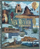 New Mexico land of enchantment state tapestry throw blanket- ES