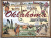 Oklahoma route 66 state tapestry throw blanket-ES