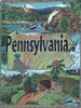 Pennsylvania keystone state tapestry throw blanket
