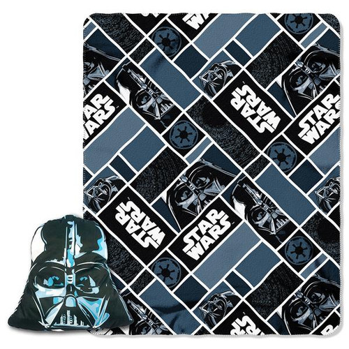 Star Wars Darth Vader fleece throw blanket, Pillow set, Disney