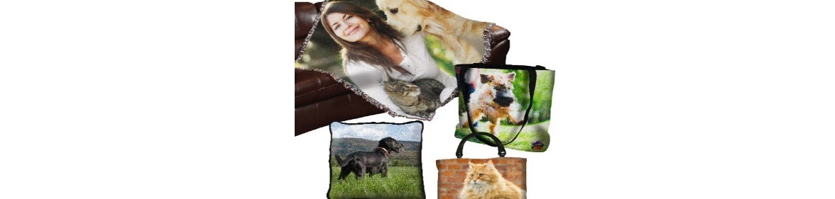 pet memorial photo throw blankets