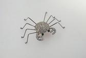 Adorable Vintage Rhinestone Spider Pin Elegant Legs Looks Like A Crab