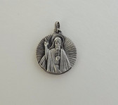 Vintage ITALY Catholic Religious Medal Sacred Heart of Jesus Mary Baby