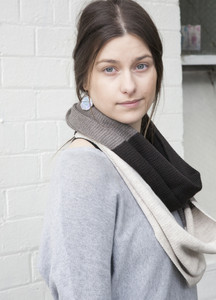 Block Colour Infinity Scarf