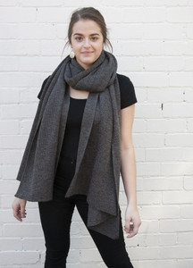 oversized wrap / scarf  in casino