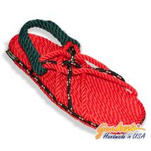 Signature Neptune Strawberry Rope Sandals