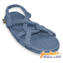 Classic Barbados Denim Rope Sandals