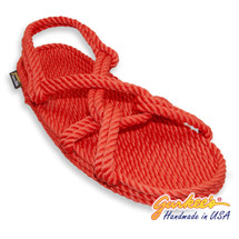 Classic Barbados Red Rope Sandals