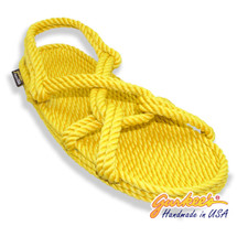 Classic Barbados Yellow Rope Sandals