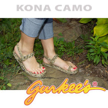 Signature Kona Camo Rope Sandals