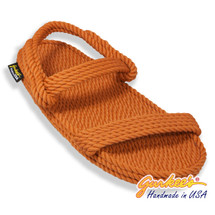 Classic Montego Rust Rope Sandals