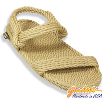 Classic Montego Tan Rope Sandals