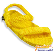 Classic Montego Yellow Rope Sandals