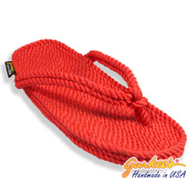 Classic Tobago Red Rope Sandals