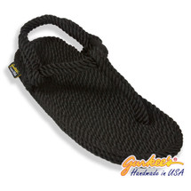 Classic Trinidad Black Rope Sandals