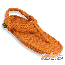 Classic Trinidad Rust Rope Sandals