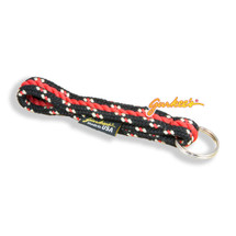 Gurkee's Black Mountain & Red Rope Keychain