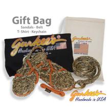 Autumn Camo Gift Bag (Sandals, Belt, Shirt & Keychain)