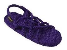 Classic Neptune Purple Rope Sandals