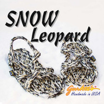 Barbados Snow Leopard Rope Sandals