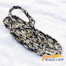 Signature Trinidad Snow Leopard Rope Sandals