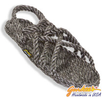 Signature Neptune Black Ice Rope Sandals