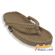 Classic Tobago Khaki Rope Sandals