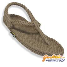 Classic Trinidad Khaki Rope Sandals