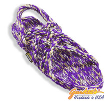 Neptune Purple Tie Dye Rope Sandals