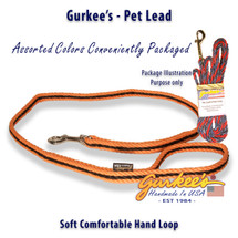 Orange & Black Pro Pet Lead