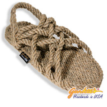 Signature Neptune Hemp Color Rope Sandals
