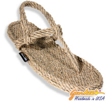 Signature Trinidad Hemp Color Rope Sandals