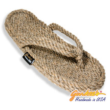 Signature Tobago Hemp Color Rope Sandals